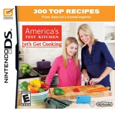 Foto Jogo America´s Test Kitchen Let´s Get Cooking Nintendo DS