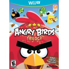 Foto Jogo Angry Birds: Trilogy Wii U Activision