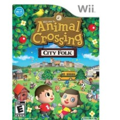 Foto Jogo Animal Crossing: City Folk Wii Nintendo