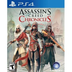 Foto Jogo Assassin's Creed Chronicles PS4 Ubisoft
