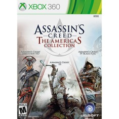 Foto Jogo Assassin's Creed: The Americas Collection Xbox 360 Ubisoft