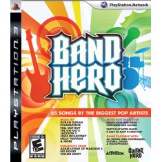 Foto Jogo Band Hero PlayStation 3 Activision