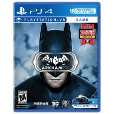 Foto Jogo Batman Arkham VR PS4 Warner Bros