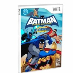 Foto Jogo Batman: The Brave and the Bold Wii Warner Bros