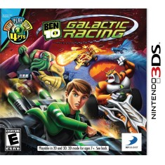 Foto Jogo Ben 10 Galactic Racing 3DS D3 Publisher Nintendo 3DS