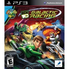 Foto Jogo Ben 10 Galactic Racing PlayStation 3 D3 Publisher