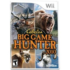 Foto Jogo Cabela's: Big Game Hunter 2010 Wii Activision