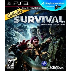 Foto Jogo Cabela's Survival: Shadows Of Katmai PlayStation 3 Activision