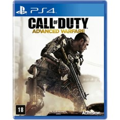 Foto Jogo Call Of Duty Advanced Warfare PS4 Activision