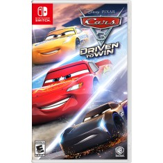 Foto Jogo Cars 3 Driven to Win Warner Bros Nintendo Switch