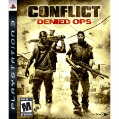 Foto Jogo Conflict Denied Ops PlayStation 3 NC Games