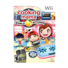 Foto Jogo Cooking Mama: World Kitchen Wii Majesco Entertainment
