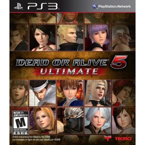 Foto Jogo Dead or Alive 5 Ultimate PlayStation 3 Tecmo