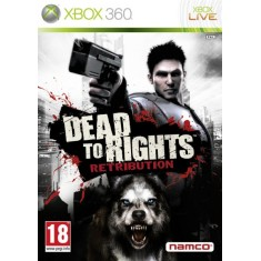 Foto Jogo Dead to Rights Retribution Xbox 360 Bandai Namco