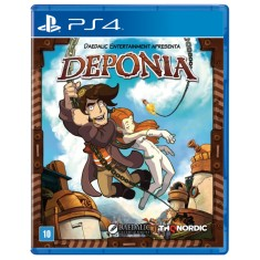 Foto Jogo Deponia PS4 Nordic Games