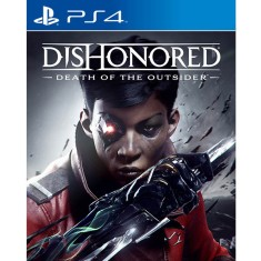 Foto Jogo Dishonored Death Of The Outsider PS4 Bethesda