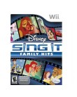 Jogo Disney Sing It: Family Hits Wii Disney