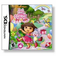 Foto Jogo Dora the Explorer: Dora's Big Birthday Adventure 2K Nintendo DS