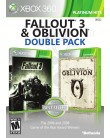 Jogo Fallout 3 & Obvilion Double Pack Xbox 360 Bethesda