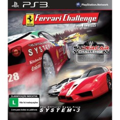 Foto Jogo Ferrari Challenge e Absolute Car PlayStation 3 System 3