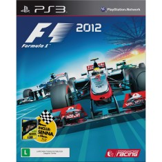 Foto Jogo Formula 1 2012 PlayStation 3 Codemasters