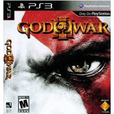 Foto Jogo God Of War III PlayStation 3 Sony
