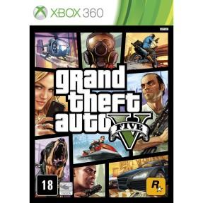 Foto Jogo Grand Theft Auto V Xbox 360 Rockstar