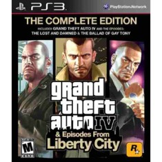 Foto Jogo GTA IV: The Complete Edition PlayStation 3 Rockstar