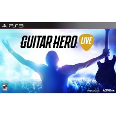 Foto Jogo Guitar Hero Live PlayStation 3 Activision