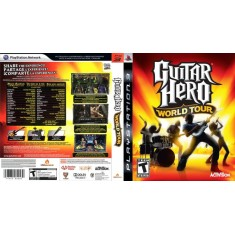 Foto Jogo Guitar Hero: World Tour PlayStation 3 Activision