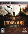 Jogo History Legends Of War: Patton PlayStation 3 Maximum Family Games