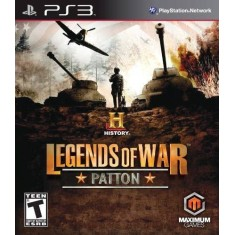 Foto Jogo History Legends Of War: Patton PlayStation 3 Maximum Family Games