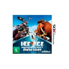 Foto Jogo Ice Age Continental Drift Arctic Games Activision Nintendo 3DS