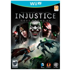 Foto Jogo Injustice: Gods Among Us Wii U Warner Bros