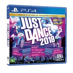 Foto Jogo Just Dance 2018 PS4 Ubisoft