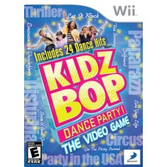 Foto Jogo Kidz Bop Dance Party Wii D3 Publisher