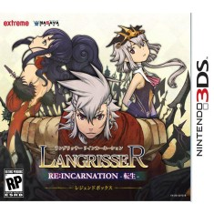 Foto Jogo Langrisser Re:Incarnation Aksys Games Nintendo 3DS