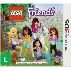 Foto Jogo Lego Friends Warner Bros Nintendo 3DS