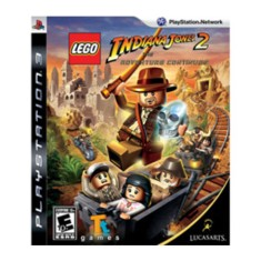 Foto Jogo Lego Indiana Jones 2: The Adventure Continues PlayStation 3 LucasArts
