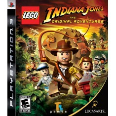 Foto Jogo Lego Indiana Jones PlayStation 3 LucasArts