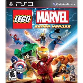 Foto Jogo Lego Marvel Super Heroes PlayStation 3 Warner Bros