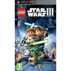 Foto Jogo LEGO Star Wars III: The Clone Wars LucasArts PlayStation Portátil