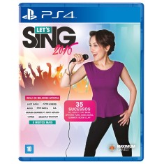 Foto Jogo Let's Sing 2016 PS4 Maximum Family Games