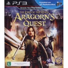 Foto Jogo Lord of the Rings: Aragorn's Quest PlayStation 3 Warner Bros