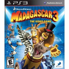 Foto Jogo Madagascar 3: The Video Game PlayStation 3 D3 Publisher