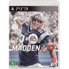 Foto Jogo Madden NFL 17 PlayStation 3 EA