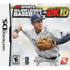 Foto Jogo Major League Baseball 2K10 2K Nintendo DS
