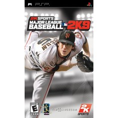 Foto Jogo Major League Baseball 2k9 2K PlayStation Portátil