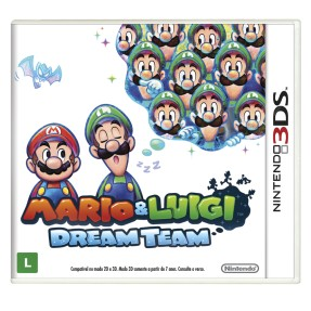 Foto Jogo Mario & Luigi Dream Team Nintendo 3DS