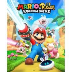 Foto Jogo Mario + Rabbids Kingdom Battle Ubisoft Nintendo Switch